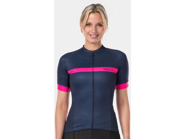 Bontrager Anara LTD Jersey Dames, deep dark blue/radioactive pink